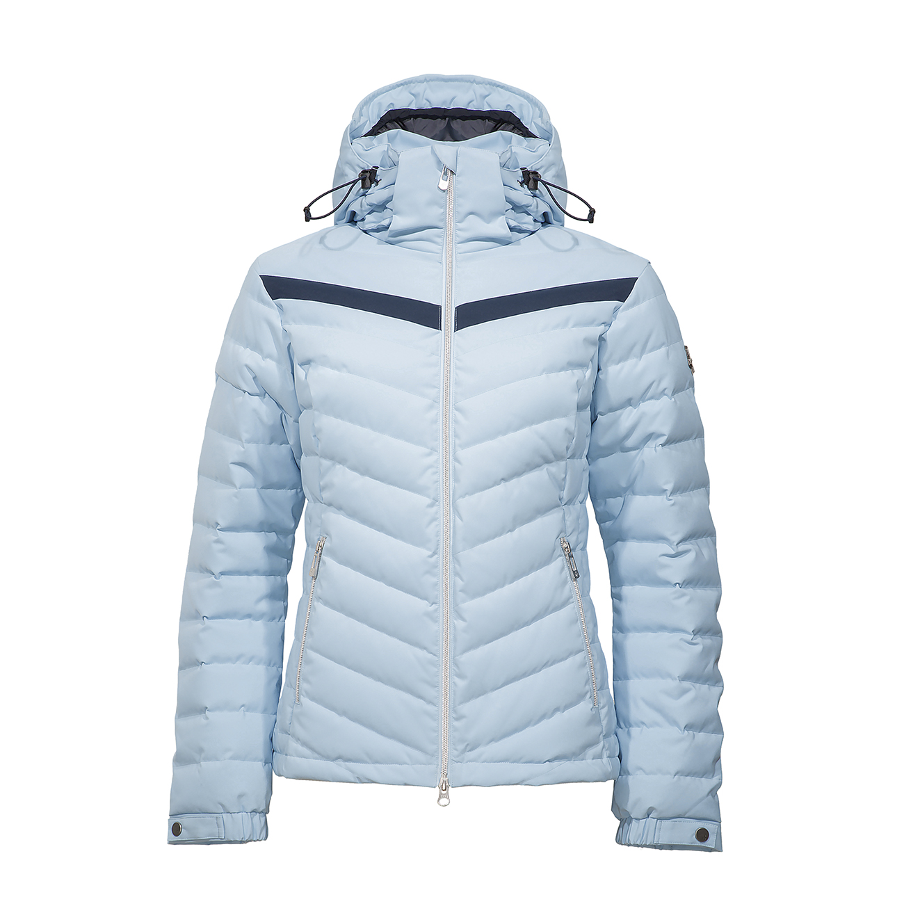 produktfotografering-w-pro-hoodie-jacket-sky-blue-front